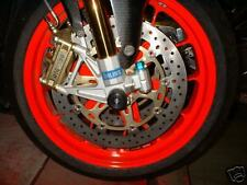 DUCATI ST3 ST4 Desmosedici CRASH MUSHROOMS FRONT AXLE SLIDERS BOBBINS BUNGS  S2C