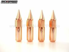 ROSE GOLD SICKSPEED Lug Nuts 60/90mm spiked M12x1.5 Radmuttern 4er