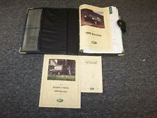 1999 Land Rover Discovery Owner Owner's Operator Guide Manual Set SD 4.0L V8