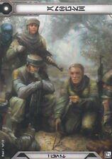 Star Wars Legion - Promo Alt Art - Command Card - Rebel Troopers - Ambush