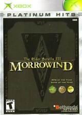 ELDER SCROLLS III: MORROWIND -- GOTY  ( JEUX MICROSOFT XBOX )  COMPLET / CIB