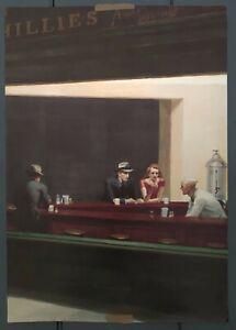 Edward Hopper - Nighthawks Poster A1