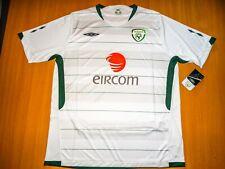 * NEW SHIRT IRELAND 2009 2010 AWAY BNWT UMBRO  FOOTBALL IRISH JERSEY SOCCER XL