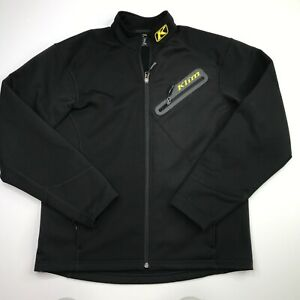 Klim Men's Black Inferno Jacket Size Medium Full Zip