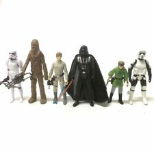 6Pcs Star Wars Epic Battles Chewbacca STORMTROOPER Darth Vader figure hasbro toy