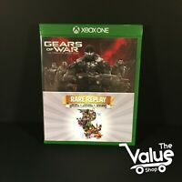Gears of War Ultimate Edition/Rare Replay Double Pack (Microsoft Xbox One, 2015)