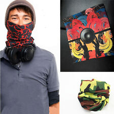 Unisex Snood Head Face Mask Neck Warmer Sport Running Scarf High Quality