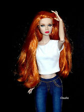 "OOAK Fashion Royalty 12"" Poppy in Switzerland REPAINT Nude Doll STUNNING !!!"