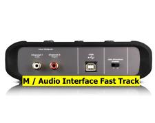 M / Audio Interface Fast Track Dj Equipment USB Controller TV-Audio Kontroller