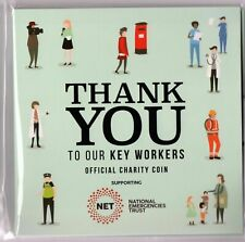 2020 Thank You To Our Key Workers Official Coin 50p Style Samoa Half Dollar.b