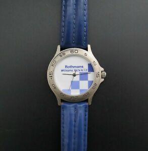 Vintage Rothmans Williams Renault F1 Formula 1 Wrist Watch. 1994-97 VGC