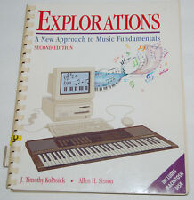 Explorations A New Approach to Music Fundamentals 2nd Edition Kolosick Macintosh