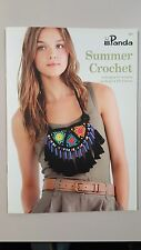 Panda Pattern Book #226 Summer Crochet 9 Designs for Women to Crochet