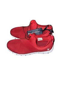 Mens 10.5 us polo assn red slip on shoes -NEW-