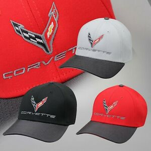 2020 Corvette C8 FlexFit Hat *Choose Color* 688102