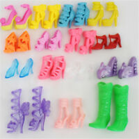 10pairs High Heels  Shoes Sandals Doll Shoes For  Dolls Gift Toys E&
