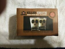 Killer Shots Dead Good Shot Glasses-Skull Face  Set of 2 Glasses HORROR BLOCK