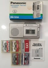 More details for panasonic micro-cassette recorder rn-120a handheld - read