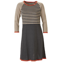 Nine West Women's Color Block & Striped Sweater Dress M #NHEVE-M177