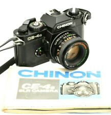 Chinon CE-4s Program & 50mm Lens 35mm SLR Camera - Aperture Priority, Manual