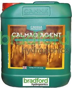 Canna CalMag Agent 5L Calcium Magnesium Cal Mag Nutrient 5 Litre Calmag CANNA