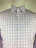 BANANA REPUBLIC - Non Iron Slim Fit lavender long sleeve shirt XL