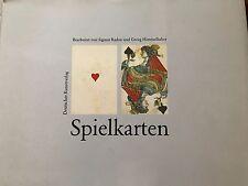 Spielkarten Bayerischen Nationalmuseum, Spielkarten, Spielkarten Katalog