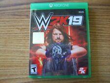 WWE 2K19 Xbox One - VERY GOOD - FREE US SHIPPING