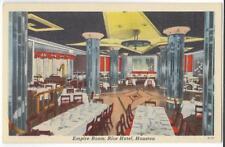 THE EMPIRE ROOM,RESTAURANT & LOUNGE,RICE HOTEL~HOUSTON,TX