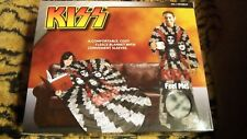 KISS - Fleece Blanket Robe Comfortable & Convenient with Sleeves ( New In Box )