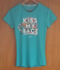 Womens Nike 'Kiss My Race / We Own the Night' T-shirt Tee Size: Small 2014