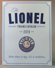 2019 Lionel Trains Product Catalog Featuring Ready to Run Sets O Scale & More