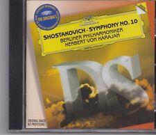 Shostakovich-Herbert Von Karajan cd album
