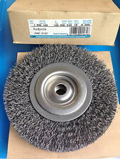 1 X round Brush 125mm 0.30 Wire Drilling 13 MM 6.000 RPM