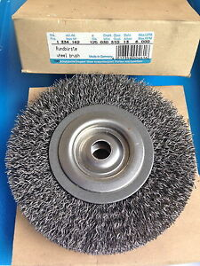 1 X round Brush 4 29/32in 0.30 Wire Drilling 0 1/2in 6.000 RPM