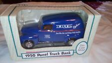 COLLECTABLE ERTL LIMITED EDITION 1 of 1250 DIE CAST 1950 CHEVY PANEL TRUCK BANK