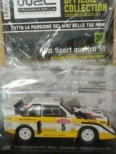 AUDI SPORT QUATTRO S1 ROHRL GEISTORFER #5   WRC RALLY 1:24 V 35 HACHETTE **