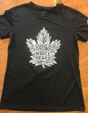 New Adidas Women'sToronto Maple Leafs NHL Creator Tee S/S Shirt Blue Small