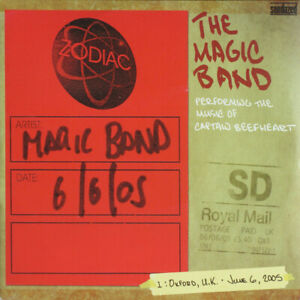 """THE MAGIC BAND  """"PERFORMING THE MUSIC OF CAPTAIN BEEFHEART""""   DOUBLE ALBUM LIVE"""