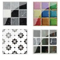 Wallpaper Kitchen Decor Waterproof Self Adhesive Mosaic Tile Wall Paper Sticker