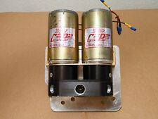 Nice! Dual Mallory 500 Comp Series Pro Stock Drag Race 500GPH Electric Fuel Pump