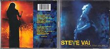 Steve Vai 2 CD's  ALIVE IN AN ULTRA WORLD  (c) 2001 SONY MUSIC