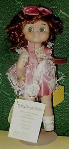 """GOEBEL Dolly Dingle ROSE DUMPLING 913696 Vinyl Doll, Karen Kennedy 9"""" MIB 1997"""