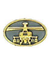 Pinback Boeing McDonnell-D AH-64 Longbow Apache Helicopter Tie Tack / Lapel Pin