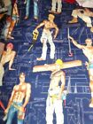 ALEXANDER HENRY sexy PINUP men Cotton QUILT Fabric U-PICK  *See INFO 3/4 to 1 yd