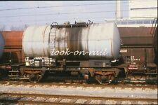 N1205 - Dia slide 35mm original Eisenbahn Holland, NS BON Kesselwagen, '80s
