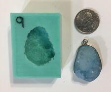 #9 Silicone Druzy Mold   Crystal Quartz Rock Cluster Geode Gem Resin
