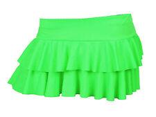 Ladies Girls Neon RARA Mini Short Skirt Dance Club  Women Sizes S - XXXL