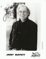 "JIMMY BUFFETT  8""X10""  B & W Autographed Photocopy"