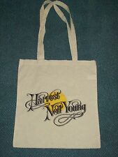 NEIL YOUNG 'HARVEST'  COTTON TOTE BAG